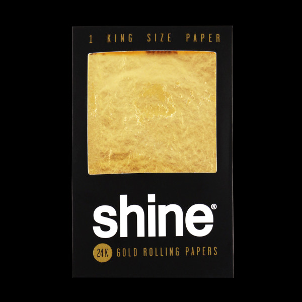 Shine - 24K Gold Rolling Papers, King Sized
