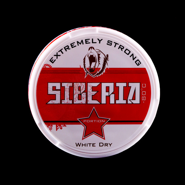 Siberia -80°C Lutschtabak - Siberia Red - White Dry Portion EXTREMELY STRONG