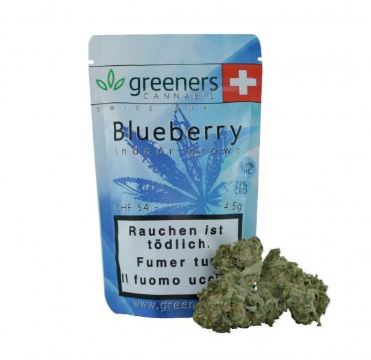 Greeners CBD - Blueberry